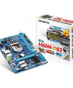 Gigabyte GA-H61M-DS2 DDR3 3rd Gen.LGA1155 Socket Mainboard