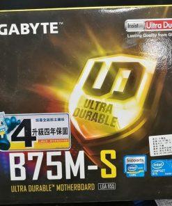 Gigabyte GA-B75M-S LGA 1155 Micro-ATX Motherboard