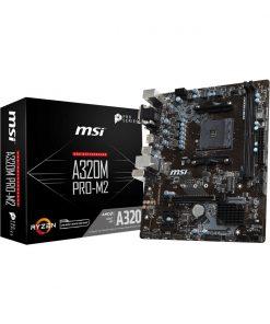MSI A320M PRO-M2 V2 DDR4 AMD AM4 Socket Mainboard