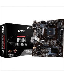 MSI B450M PRO-M2 V2 DDR4 2nd Gen AMD AM4 Socket Mainboard